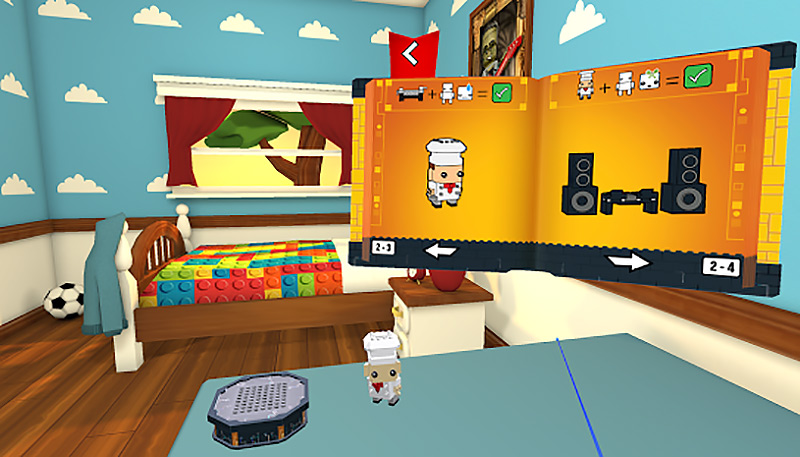 Lego Brickheadz VR game screenshot